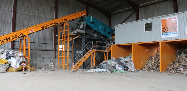 Tong MRF C&D waste sorting and recycling system